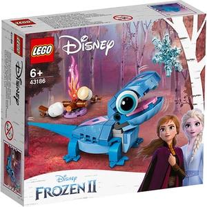 LEGO Disney: Personaj construibil Bruni Salamandra 43186, 6 ani+, 96 piese