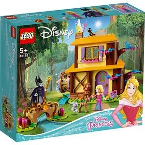 LEGO Disney Princes: Aurora's Forest Cottage 43188, 5 ani+, 300 piese