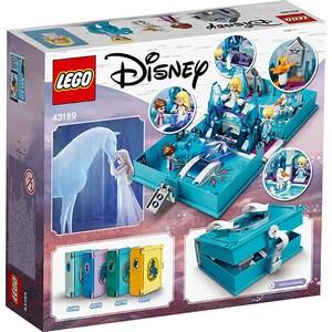 LEGO Disney: Aventuri din cartea de povesti cu Elsa si Nokk 43189, 5 ani+, 125 piese
