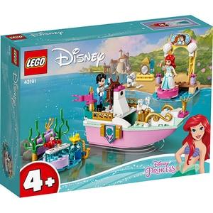 LEGO Disney: Barca de festivitati a lui Ariel 43191, 4 ani+, 114 piese