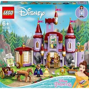 LEGO Disney Princess: Castelullui Belle si al Bestiei 43196, 6 ani+, 505 piese