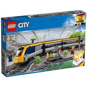 LEGO City: Tren de calatori 60197, 6 - 12 ani, 677 piese