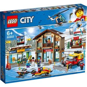 LEGO City: Statiunea de schi 60203, 6 ani+, 806 piese