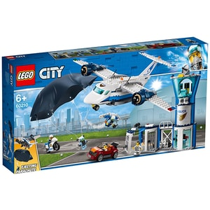 LEGO City: Police - Baza politiei aeriene 60210, 6 ani+, 529 piese