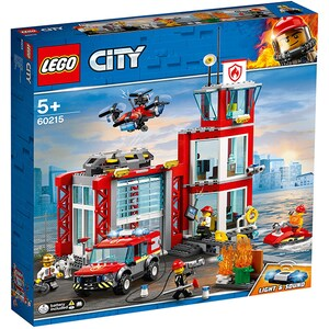LEGO City: Statie de pompieri 60215, 5 ani+, 509 piese