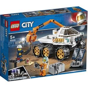 LEGO City: Cursa de testare pentru Rover 60225, 5 ani+, 202 piese