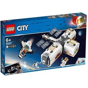 LEGO City: Statie spatiala lunara 60227, 6 ani+, 412 piese