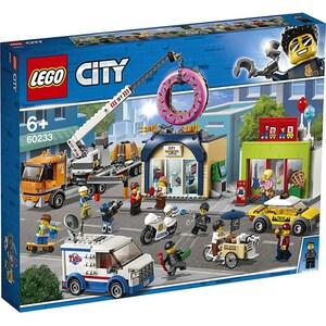 LEGO City: Town - Deschiderea magazinului de gogosi 60233, 6 ani+, 790 piese