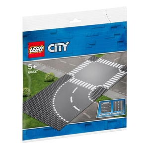 LEGO City: Curba si intersectie 60237, 5 ani+, 2 piese