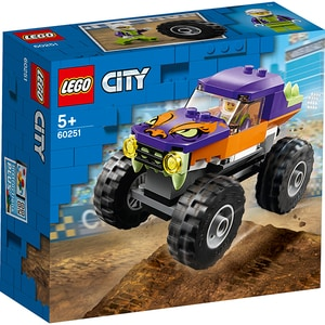 LEGO City: Camion gigant 60251, 5 ani+, 55 piese