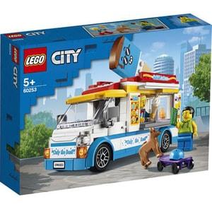 LEGO City: Great Vehicles - Furgoneta cu inghetata 60253, 5 ani+, 200 piese