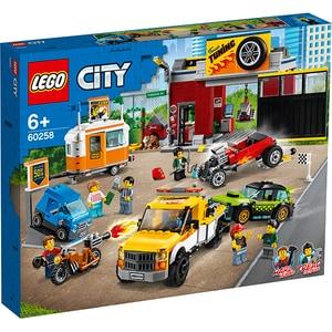 LEGO City: Atelier de tuning 60258, 6 ani+, 897 piese
