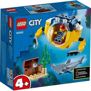 LEGO City: Minisubmarin oceanic 60263, 4 ani+, 41 piese