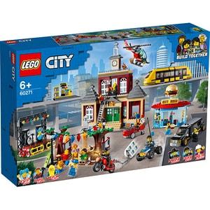 LEGO City: Piata Principala 60271, 6 ani+, 1517 piese