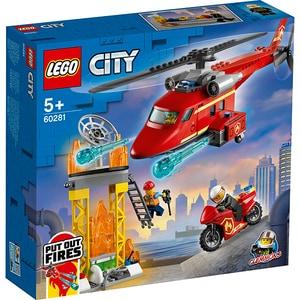 LEGO City: Elicopter de pompieri 60281, 5 ani+, 212 piese
