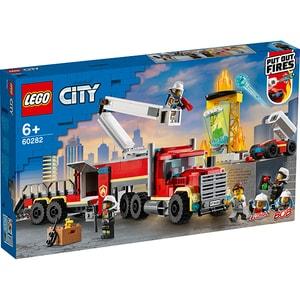 LEGO City: Unitatea de comanda a pompierilor 60282, 6 ani+, 380 piese