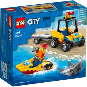 LEGO City: ATV de salvare pe plaja 60286, 5 ani+, 79 piese