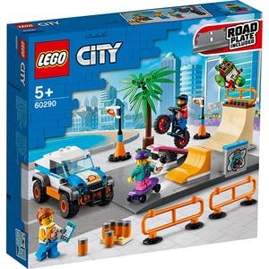 LEGO City: Parc de skateboarding 60290, 5 ani+, 195 piese
