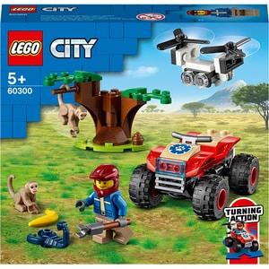 LEGO City: ATV de salvare a animalelor salbatice 60300, 5 ani+, 74 piese