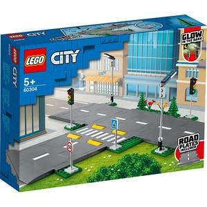 LEGO City: Placi de drum 60304, 5 ani+, 112 piese