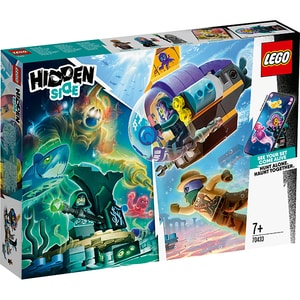 LEGO Hidden Side: Submarinul lui JB 70433, 7 ani+, 224 piese