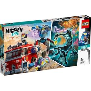 LEGO Hidden Side: Camionul de pompieri Phantom 3000 70436, 9 ani+, 760 piese