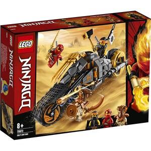 LEGO Ninjago: Motocicleta de teren a lui Cole 70672, 8 ani+, 212 piese