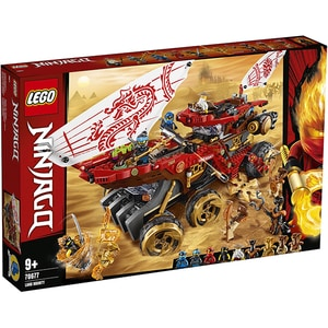LEGO Ninjago: Bounty de teren 70677, 9 ani+, 1178 piese