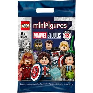 LEGO Minifigures: Studiourile Marvel 71031, 5 ani+, 10 piese