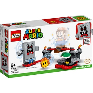 LEGO Mario: Set de extindere Whomp 71364, 6 ani+, 133 piese