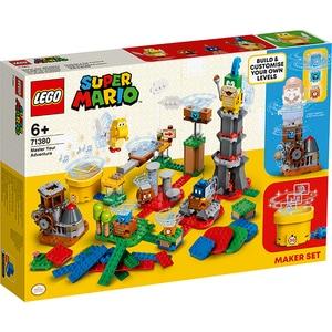 LEGO Super Mario: Cunoaste-ti setul creator de aventuri 71380, 6 ani+, 366 piese