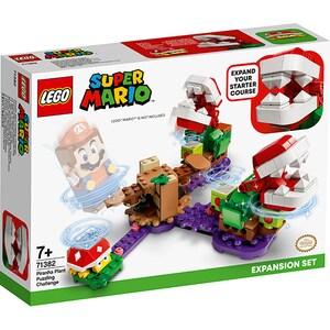LEGO Super Mario: Set de extindere Provocarea Plantei Piranha 71382, 7 ani+, 267 piese