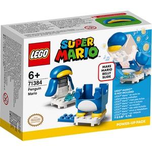 LEGO Super Mario: Costum de puteri - Mario Pinguin 71384, 6 ani+, 18 piese