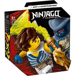 LEGO Ninjago: Set de lupta epica - Jay contra Serpentine 71732, 6 ani+, 69 piese