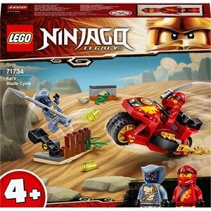 LEGO Ninjago: Motocicleta Blade a lui Kai 71734, 4 ani+, 54 piese