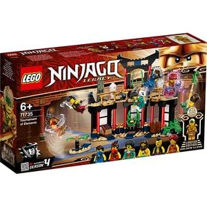 LEGO Ninjago: Turnirul Elementelor 71735, 6 ani+, 283 piese