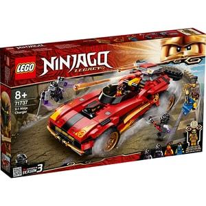 LEGO Ninjago: incarcator Ninja X-1 71737, 8 ani+, 599 piese