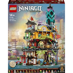LEGO Ninjago: Gradinile orasului 71741, 14 ani+, 5685 piese