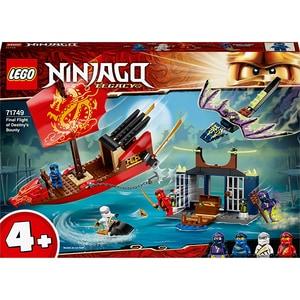LEGO Ninjago: Ultimul zbor al navei Destiny's Bounty 71749, 4 ani+, 147 piese