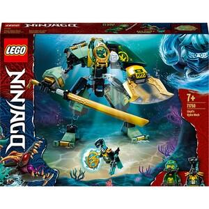 LEGO Ninjago: Robotul Hidro al lui Lloyd 71750, 7 ani+, 228 piese