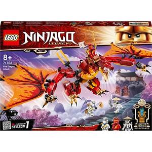 LEGO Ninjago: Atacul Dragonului de Foc 71753, 8 ani+, 563 piese