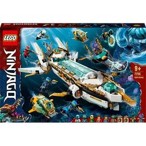 LEGO Ninjago: Hydro Bounty 71756, 9 ani+, 1159 piese