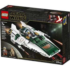 LEGO Star Wars: A-Wing Starfighter al rezistentei 75248, 7 ani+, 269 piese