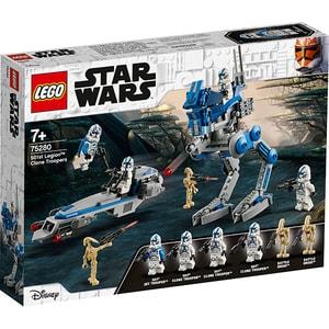 LEGO Star Wars: Clone Troopers din Legiunea 501 75280, 7 ani+, 285 piese