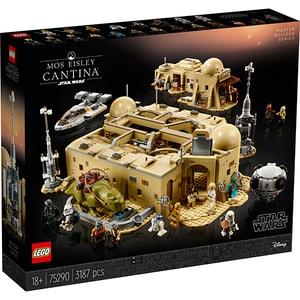 LEGO StarWars: Mos Eisley Cantina 75290, 18 ani+, 3187 piese