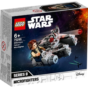 LEGO StarWars: Micronava de lupta Millennium Falcon 75295, 6 ani+, 101 piese