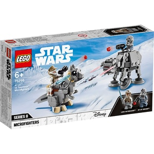 LEGO Star Wars: Micronava de lupta AT-AT contra Tauntaun 75298, 6 ani+, 205 piese