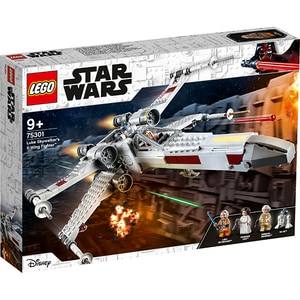 LEGO StarWars: X-Wing Fighter al lui Luke Skywalker 75301, 9 ani+, 474 piese