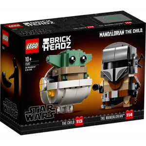 LEGO Star Wars: Mandalorian si Copilul 75317, 10 ani+, 295 piese