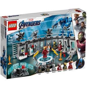 LEGO Super Heroes: Iron Man Sala Armurilor 76125, 7 ani+, 524 piese